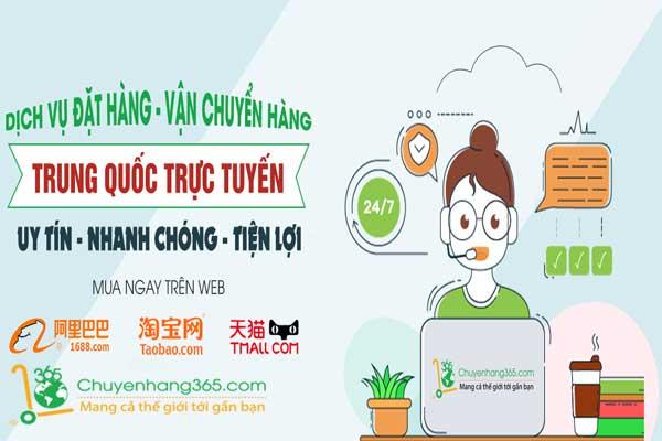 Chọn chuyenhang365 để đặt hàng Taobao Tmall không cần biết tiếng Trung
