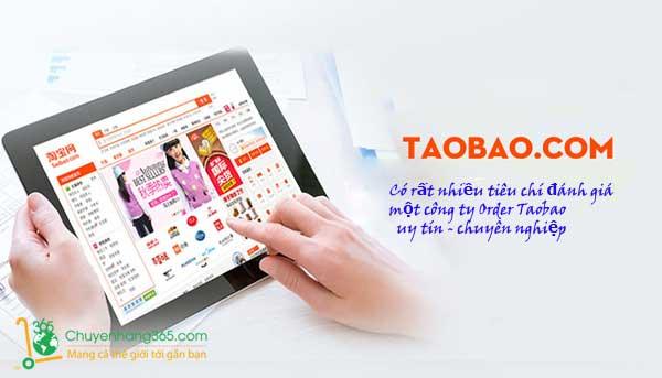 Tiêu chí đánh giá các công ty order hàng Taobao uy tín của Trung Quốc