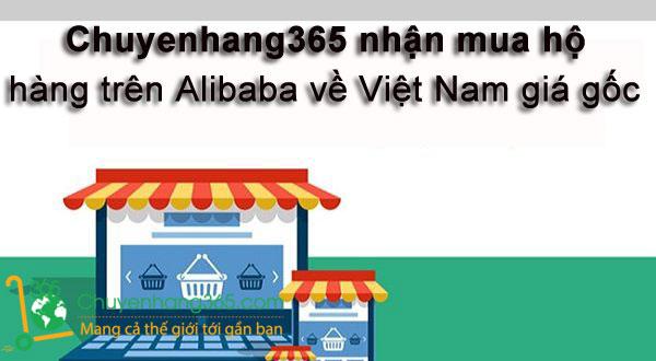 Chuyenhang365 nhận mua hộ hàng Alibaba về Việt Nam giá gốc